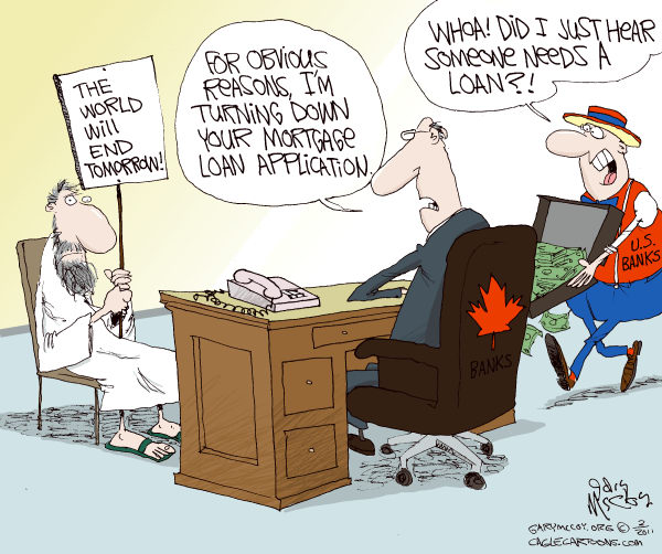 89843 600 US Vs Canada Banks cartoons