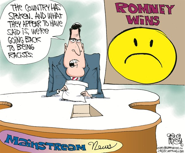 121796 600 Romney Wins Media Sad cartoons