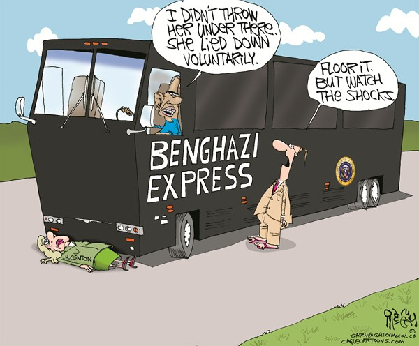 122569 600 Hillary Under Benghazi Bus cartoons