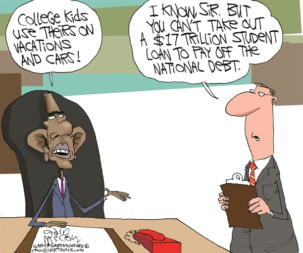 149158 600 Obamas Student Loan cartoons