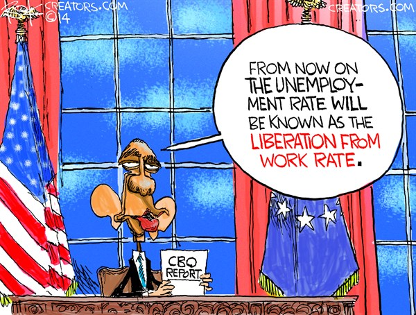 144132 600 Liberation from Work Rate cartoons
