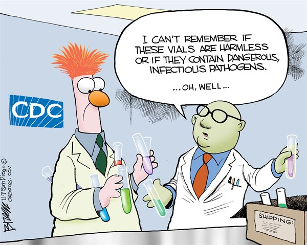 151279 600 Harmless Vials cartoons