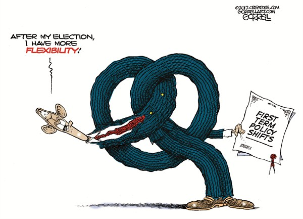 109053 600 Obamas Flexibility cartoons
