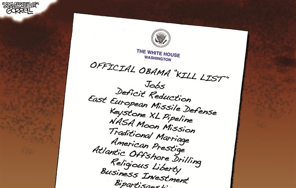 112628 600 Obama Kill List cartoons