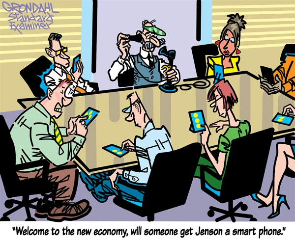 Smart Phone © Cal Grondahl,Utah Standard Examiner,smart,phone,talk,internet