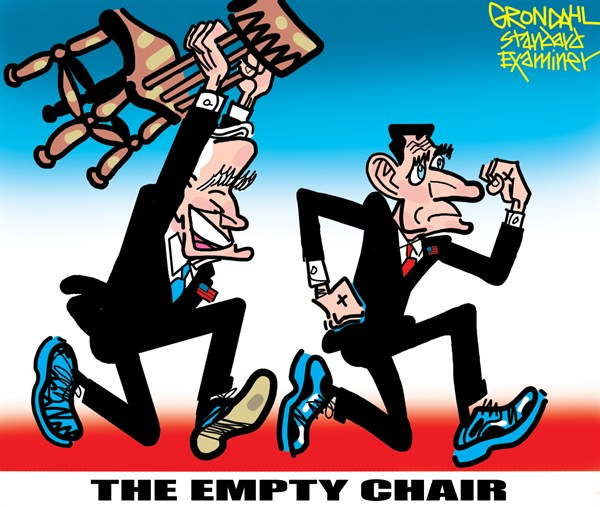 120372 600 The Empty Chair cartoons