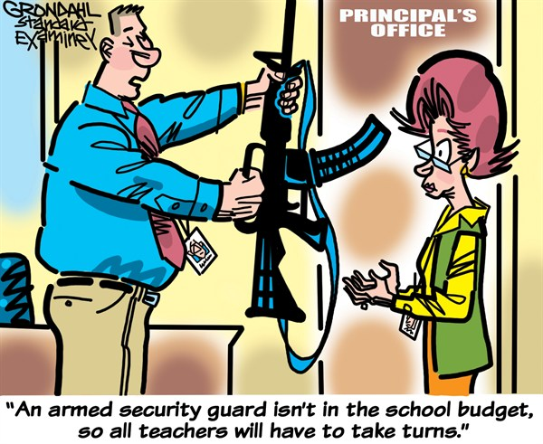 124951 600 Armed Teachers cartoons