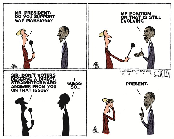 111480 600 Obamas Position on Gay Marriage cartoons