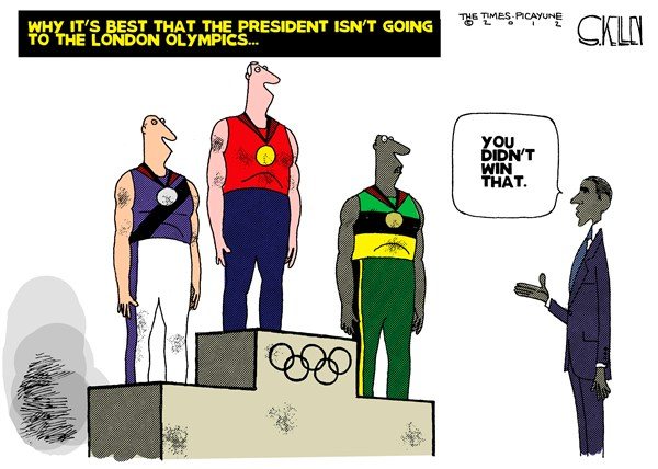 116030 600 Obama at the Olympics cartoons