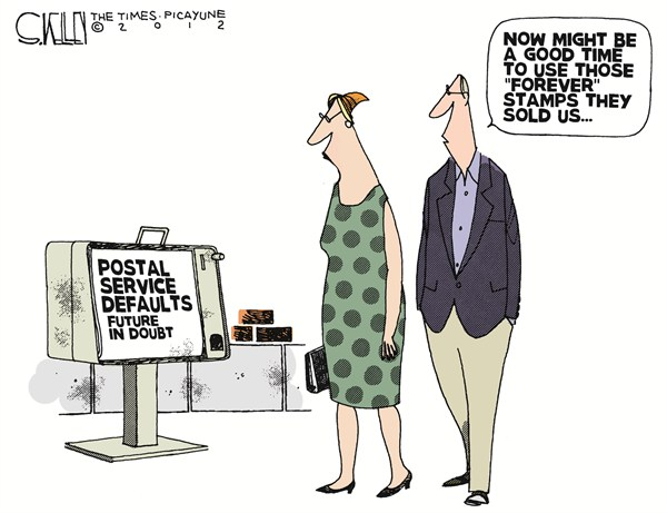 116435 600 Postal Service Defaults cartoons