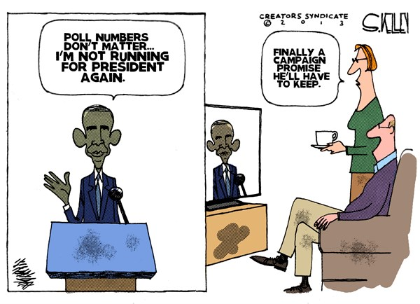 Obamas Promise © Steve kelley,The New Orleans Times, Picayune,obama,campaign,promise,president,election