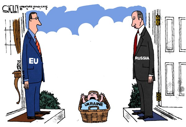 Ukraine Baby © Steve kelley,The New Orleans Times, Picayune,ukraine,baby,russia,eu
