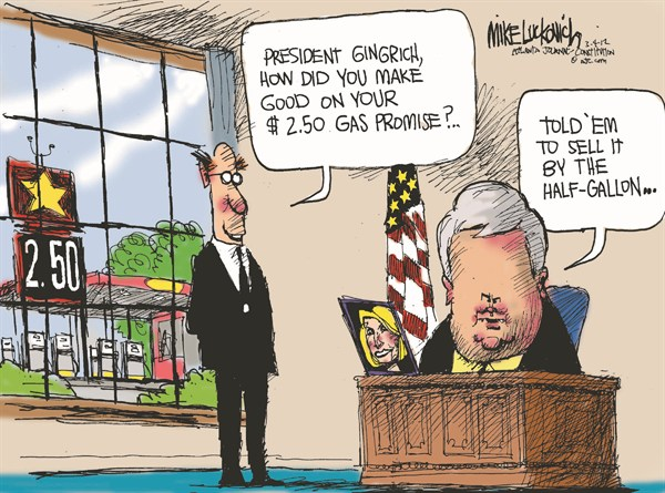 107600 600 Gingrich Gas Promise cartoons