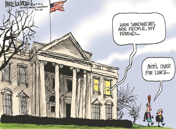 123232 600 Lunch at the White House cartoons