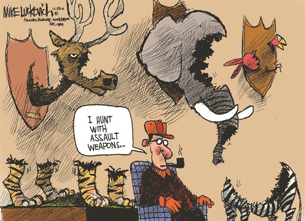 124707 600 Hunting with Assault Weapons cartoons