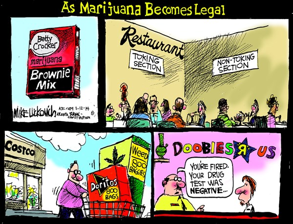Marijuana Becomes Legal © Mike Luckovich,The Atlanta Journal Constitution,,marijuana-sales