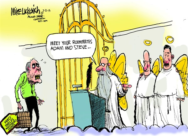 Fred Phleps © Mike Luckovich,The Atlanta Journal Constitution,fred phelps,westoboro,best of inmemoriam