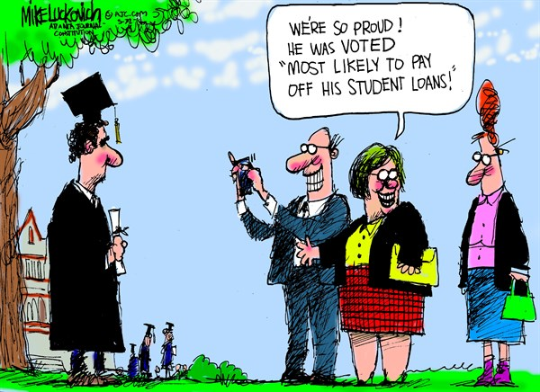 148896 600 Most Likely to Pay Student Loans cartoons
