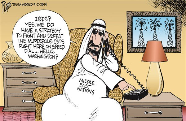 Middle East ISIS Strategy © Bruce Plante,Tulsa World,isis,strategy,defeat,mideast,nation