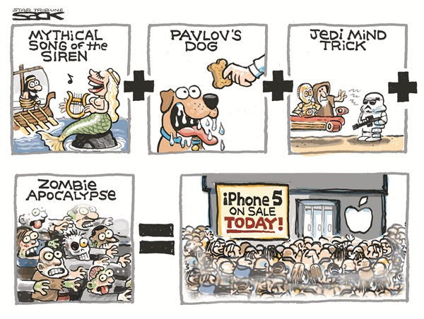 Steve Sack - The Minneapolis Star Tribune - iPhone 5 - English -