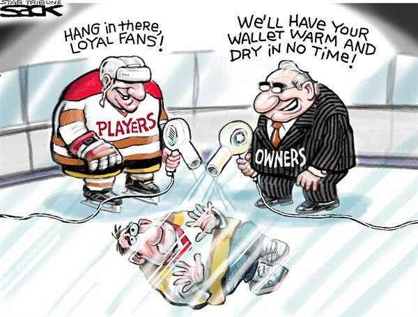 125190 600 Welcome Back NHL Fans cartoons