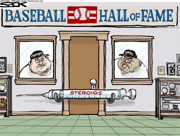 125399 600 Baseball Hall of Fame Rejects cartoons