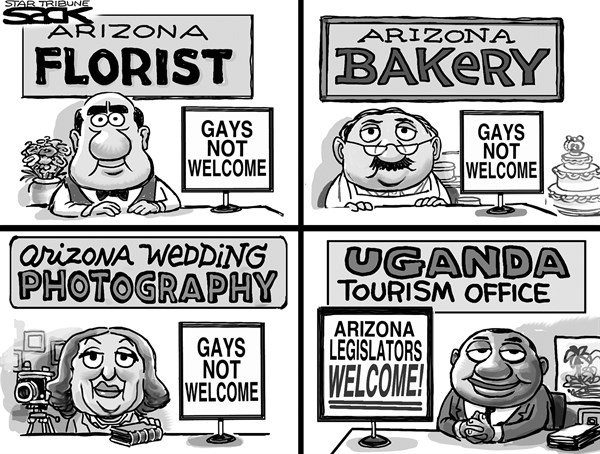 Steve Sack - The Minneapolis Star Tribune - Hazing Arizona - English - gay, Arizona