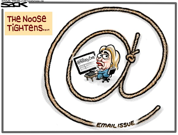 An arsenal of smoking guns in Clinton email scandal