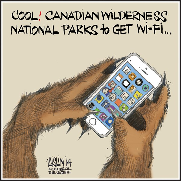 147855 600 Wi Fi to be introduced in Canadas National Parks cartoons