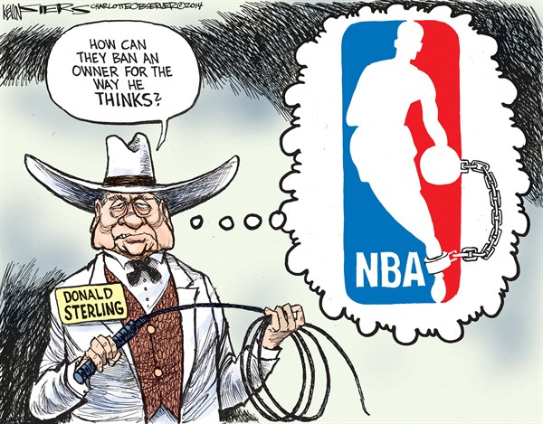 147878 600 Donald Sterling cartoons