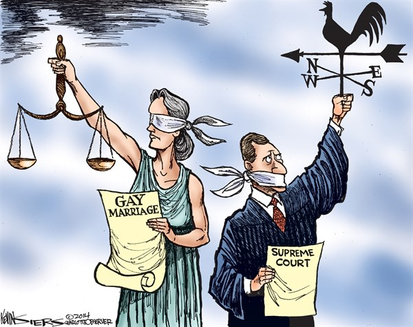 Wind Blows © Kevin Siers,The Charlotte Observer,supreme court,wind,blows,gay marriage