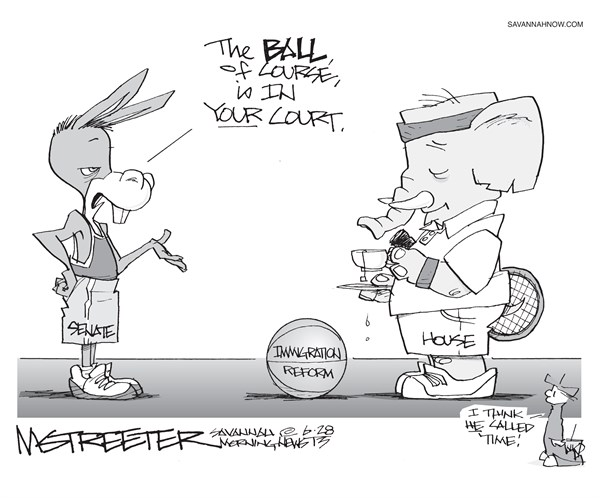 Sporting © Mark Streeter,The Savannah Morning News,sport,court,immigration reform