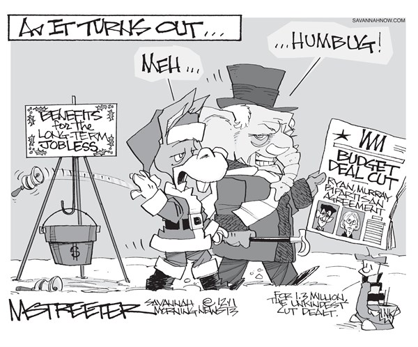 Scrooged © Mark Streeter,The Savannah Morning News,