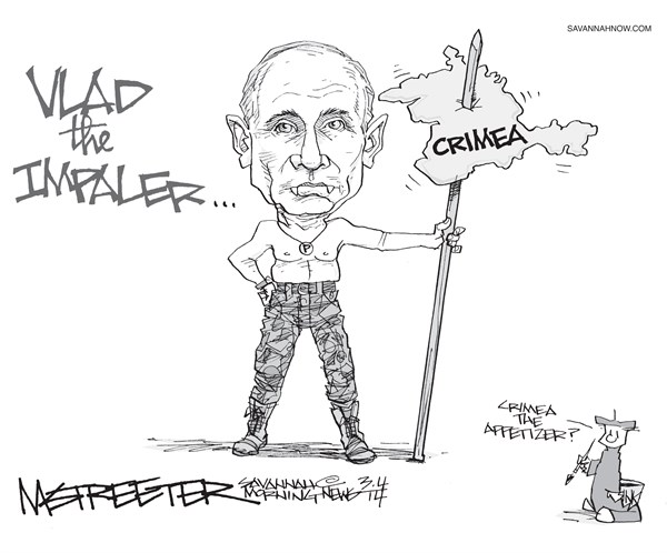Putins Point © Mark Streeter,The Savannah Morning News,,putin,russia-and-crimea