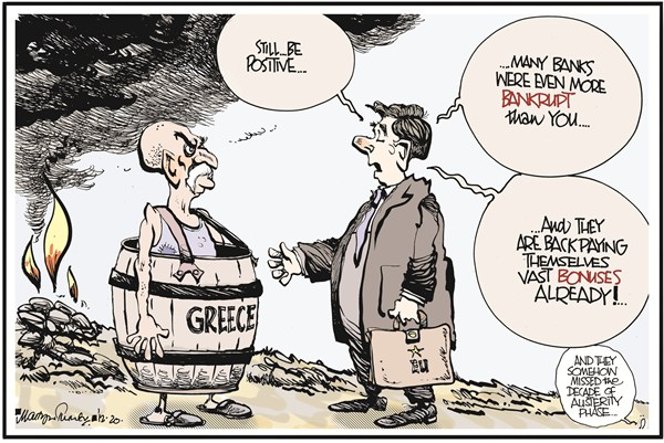106357 600 Greece Bankrupt cartoons
