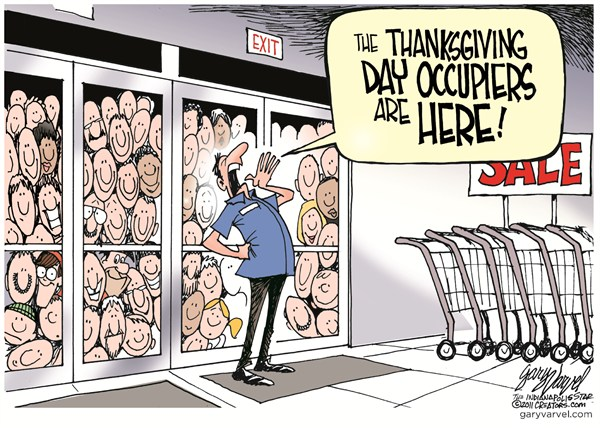 101787 600 Thanksgiving Day Occupiers cartoons