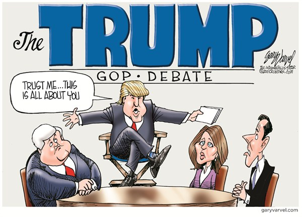 102556 600 The Trump Debate cartoons