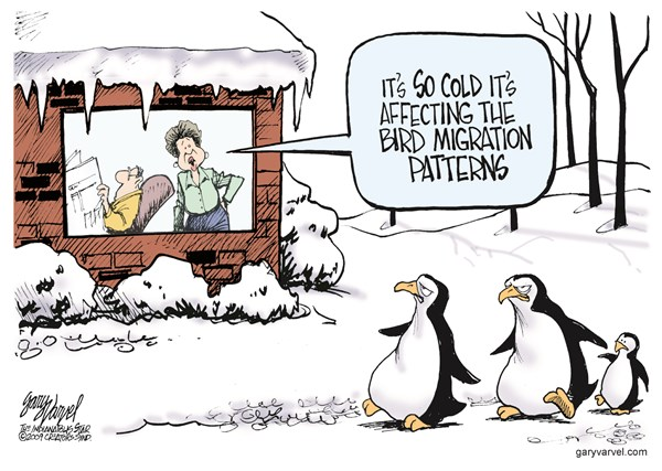 So Cold © Gary Varvel,The Indianapolis Star News,,global-warming-2014,polar-vortex