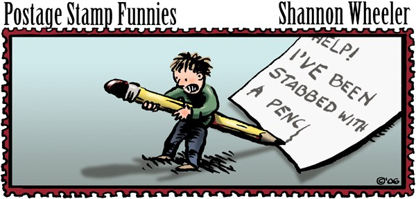 116963 600 Postage Stamp Funnies cartoons