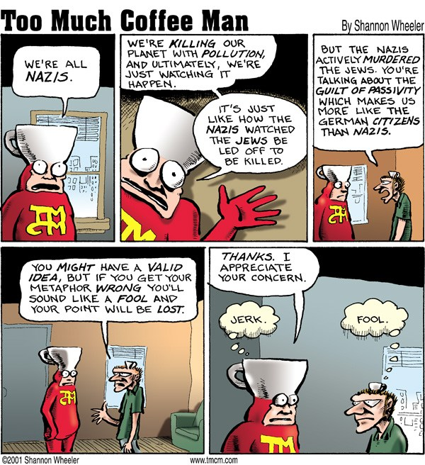 Too Much Coffee Man © Shannon Wheeler,Too Much Coffee Man!,
