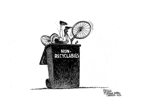 121246 600 Non Recyclables cartoons