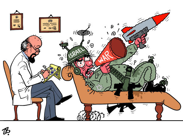 Emad Hajjaj - Jordan - war syndrome - English - israel,war,syndrome,sick,psych,war freaks,security,threats,syria,iran,hamas,Hezbollah,middle east,doctor,psychiatrist,bomb,attack,netanyahu,liberman,ehud barak,hajjaj