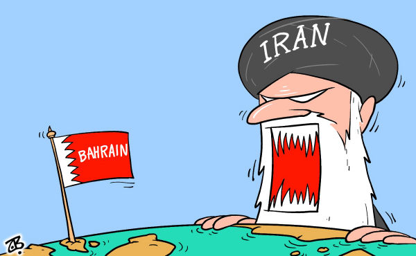 112249 600 IranBahrain cartoons