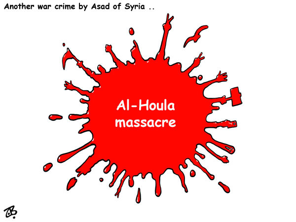 112508 600 Syrias massacre cartoons