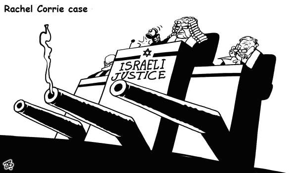 117960 600 Rachel Corrie case cartoons