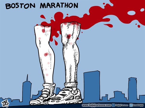 130386 600 Boston Marathon cartoons