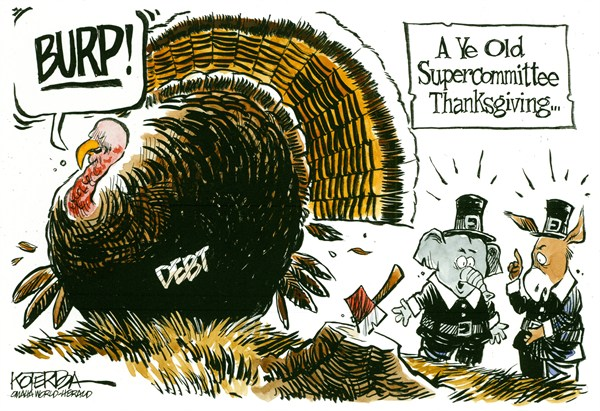 101151 600 Supercommittee Thanksgiving cartoons