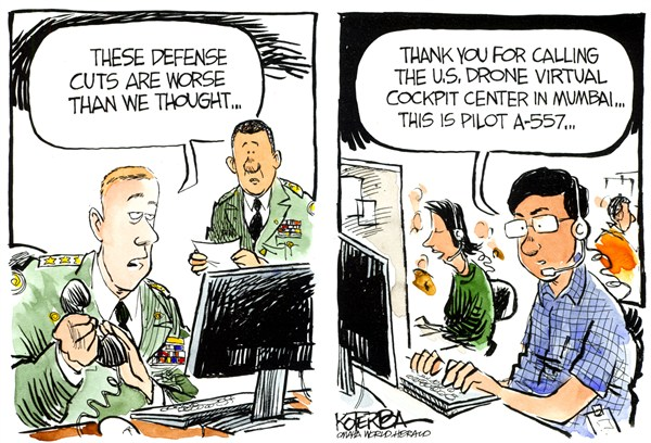 105486 600 Defense Cuts cartoons