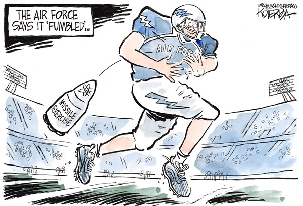136020 600 Missile Exercise cartoons