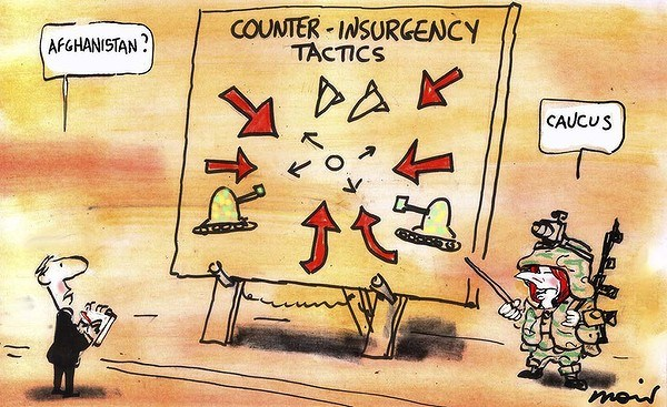 107037 600 Counter Insurgency Tactics cartoons